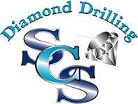 SCS Diamond Drilling, logo
